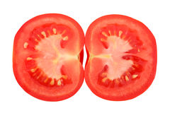 Cross-section Tomato Royalty Free Stock Photos