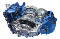 Cross section of a transmission Royalty Free Stock Photo