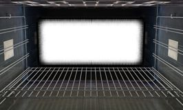 Inside The Closed Oven Stock Image