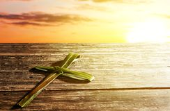 Palm Sunday concept royalty free stock images