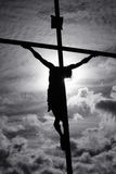Cross In The Sky Royalty Free Stock Photography