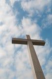 Cross on sky Stock Photos