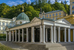 Cross Spring Pavilion, Marianske Lazne Royalty Free Stock Photography