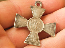 Cross of St. George Royalty Free Stock Photography