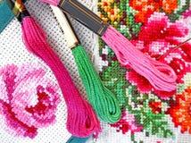 Cross Stitch Stock Photos