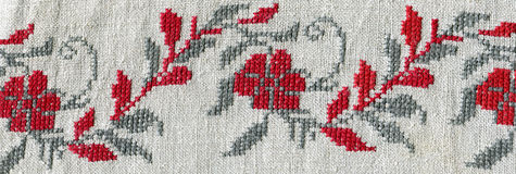 Cross-stitch Stock Images