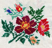 Cross-stitch Stock Image