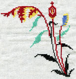 Cross-stitch Stock Photo
