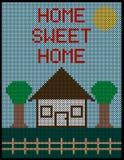 Cross Stitch Background 1 Royalty Free Stock Image