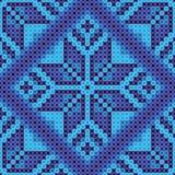 Cross stitch background Stock Photography
