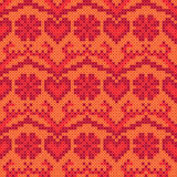 Cross stitch background Royalty Free Stock Images