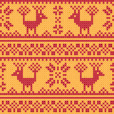 Cross stitch background Royalty Free Stock Photos