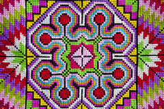 Cross-stitch cloth Stock Photo