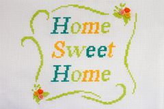 Cross-stitch Royalty Free Stock Images