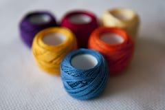 Cross stitch Stock Photo