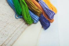 The cross-stitch crafts Stock Image