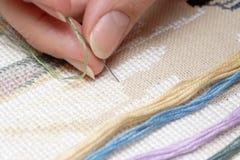 Cross-Stitch (Embroidery) Stock Photos