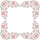 Cross-stitch embroidery in Ukrainian style Royalty Free Stock Photos
