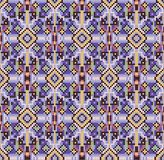 Cross-stitch ethnic ornament Royalty Free Stock Image