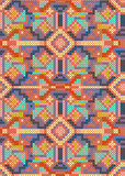 Cross-stitch ethnic seamless pattern Royalty Free Stock Photo