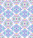 Cross-stitch ethnic seamless pattern Royalty Free Stock Photography