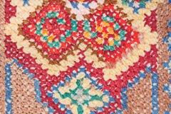 Cross stitch needlework close up Royalty Free Stock Photos