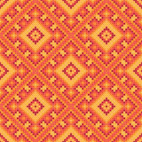 Cross stitch ornament Royalty Free Stock Photography