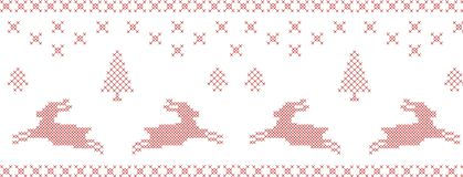 Cross-stitch pattern. Stock Photography