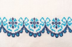 Cross-stitch pattern Royalty Free Stock Image