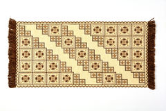 Cross-stitch pattern Stock Images