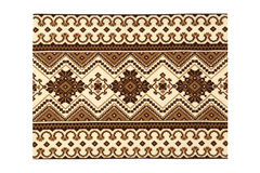 Cross-stitch pattern. Embroidered by cross-stitch pattern Royalty Free Stock Photo