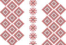 Cross-stitch pattern instruction Stock Photos
