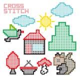 Cross stitch Royalty Free Stock Photography