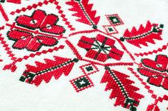 Cross stitch patterns. Stock Photography