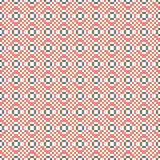 Cross stitch seamless vector pattern. Stock Photos