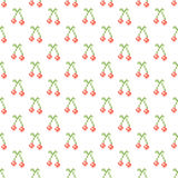 Cross stitch seamless vector pattern Stock Image