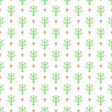 Cross stitch seamless vector pattern Royalty Free Stock Images