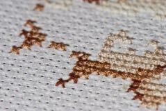 Cross-stitch Royalty Free Stock Photo