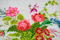 Cross stitch1 Royalty Free Stock Image