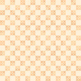 Cross-stitched pattern. Seamless vector Stock Images