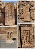 Cross stone Stock Photos