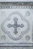 Cross stone religion Royalty Free Stock Photos