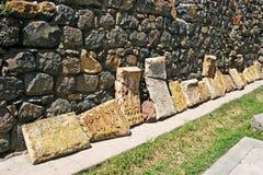 Khachkars or cross-stones Stock Images