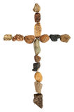 Cross of stones Royalty Free Stock Photography