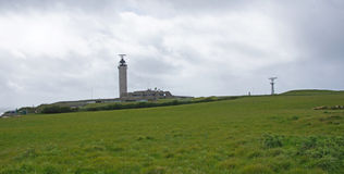 Cross surveillance station at Cap gris Nez in France Stock Photography