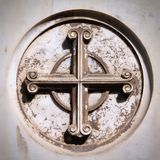 Cross symbol Royalty Free Stock Photography