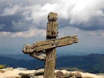 Cross. Symbol of faith and tradition Stock Photos
