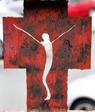 Cross symbol Royalty Free Stock Image