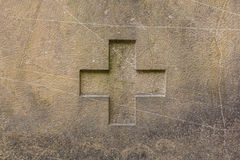 Cross texture Stock Image