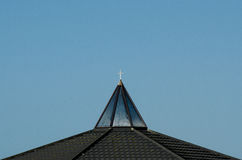 Cross on top of a church Royalty Free Stock Images